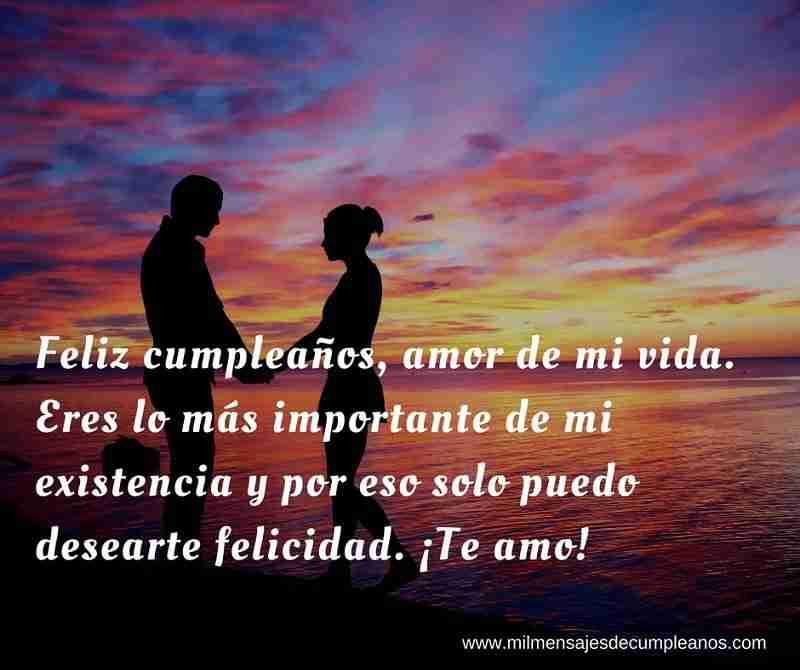 Frases De Cumpleaños Para Un Amor Originales Mensajes