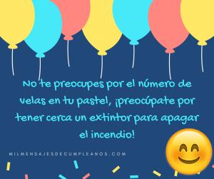 Frases De Cumpleaños Graciosas Originales Mensajes Divertidos